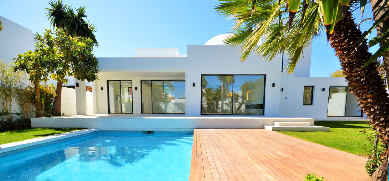 Fantastic brand new modern villa a few minutes from Puerto Banus.